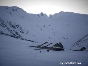 Vergaldner Tal, Skitour