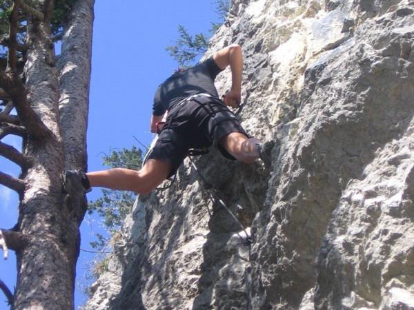 Klettersteig Via Kapf : Klettern am kapf u super gsi