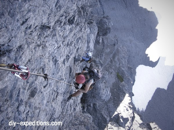 Klettersteig Usa : Von der ulmer hütte zum arlberger klettersteig u2013 super gsi!