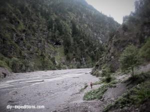 Mountainbiking Saminatal