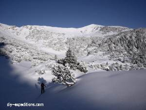 Schönberg, Liechtenstein, Skitour, Winter