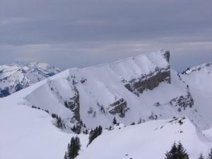 Hohe Kirche vom Bullerschkopf aus gesehen, Richtung Winterstaude