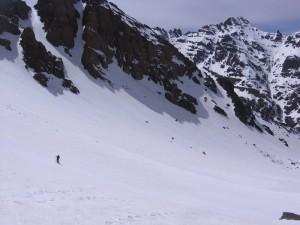Nordabfahrt vom Djebel Toubkal