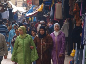 People in Morocco