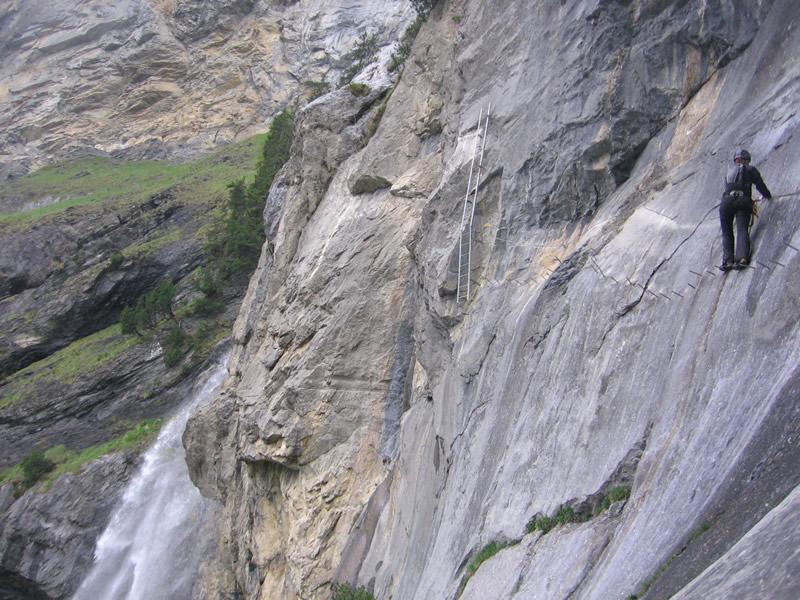 Klettersteig Uk : Klettersteig allmenalp youtube