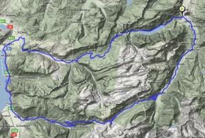 Route Klausenpass-Pragelpass