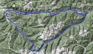 Bludenz-Bieler Höhe-Pians-Arlberg-Bludenz