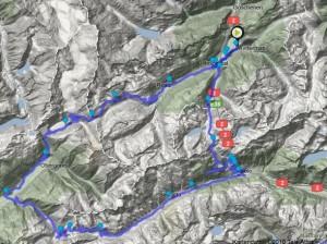 Rennrad-Runde Andermatt-Gotthart-Nufenen-Furka-Andermatt