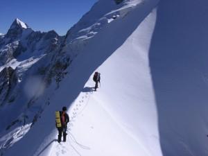 Trek zum Peak Karakol