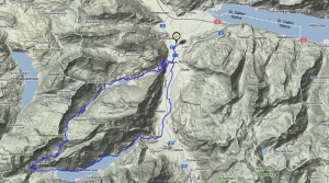 Obersee-Klöntaler See Mountainbike Runde