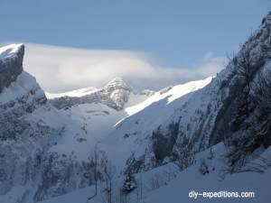 Skitouren am Säntis