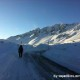Skitouren Winter am Flüela Schwarzhorn Graubünden