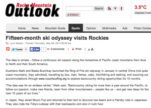 Rocky Mountains Outlook