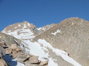 Mt Lamarck und Lamarck Col