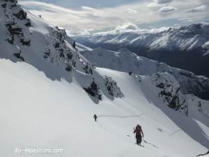 Skitouren in Patagonien
