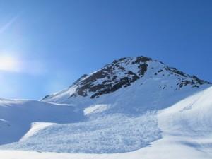 Westliche Fluhspitze, Nordhang
