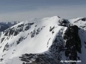 Stob Coire nan Lochan Skitour