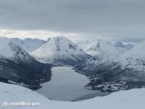 Tromsdalstinden Winter Skitour Lyngenalps
