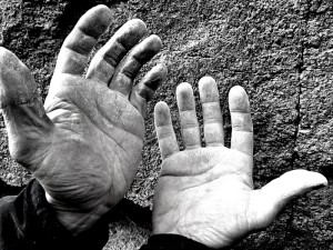 Kletterhände