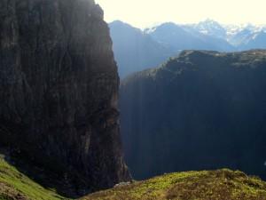 Tschaggunser Mittagsspitze, Vorarlberg