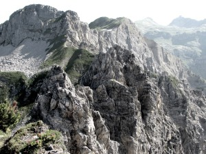 Saladinaspitze, Vorarlberg