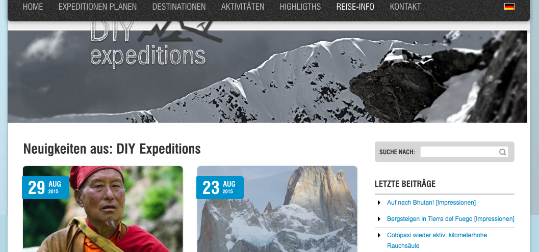DIY Expeditions Blog