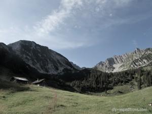 Gavalina Alpe, Rätikon