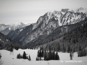 Blick Richtung Unterzalimalpe, Rätikon, Austria