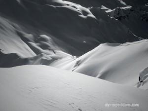 Gämpiflue, Skitouring