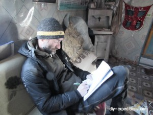 taking expedition notes