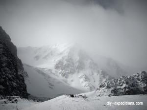 Gletscherlandschaft Aktru