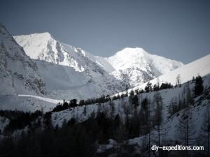 Znachkistov Pass, Altai