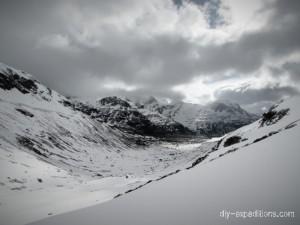 Blick nach Monte Spluga
