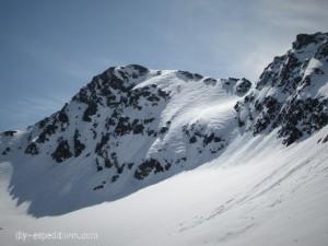 Gipfel Piz Fless Graubünden