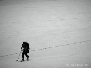 Skitour auf dem Basodino Gletscher