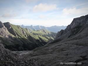 E4 Höhenweg, Lechtaler Alpen
