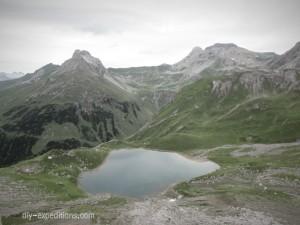 entlang des Hintersee, Lechtaler Alpen
