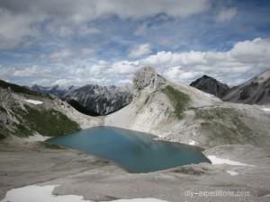 Oberer Seewisee, Lechtaler Alpen