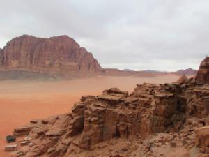 Wadi Rum - Farben wie auf dem Mars