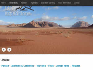 DIY Expeditions Jordanien