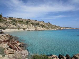 Bucht am E4 Zypern