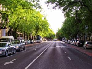 Boulevard in Budpest