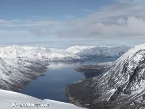RørnestindenFjord , Skitour