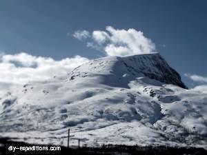 Spanstinden Skitouren Norwegen
