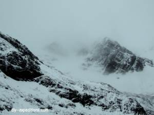 Stob Ban, Schottland, Bergsteigen