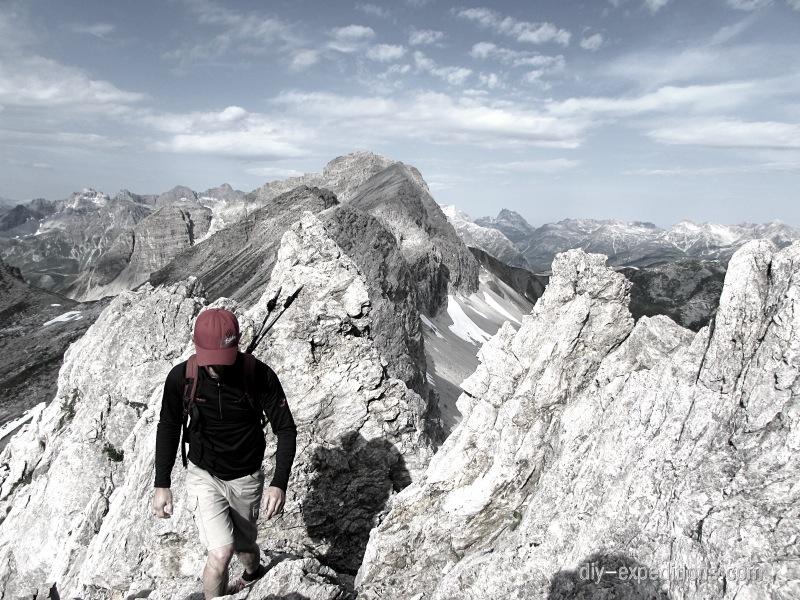 Rauher Kopf, Lechtaler Alpen